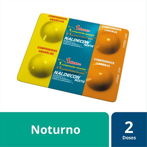 Antigripal Naldecon Noite - Blíster 4 Comprimidos