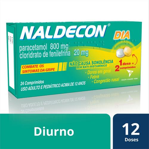 Antigripal Naldecon Pack Dia e Noite - Blíster 6 comprimidos
