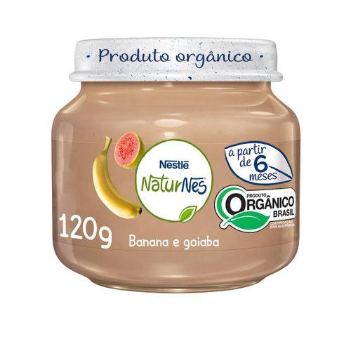 Alimento Infantil Nestle Naturnes Goiaba E Banana 120g