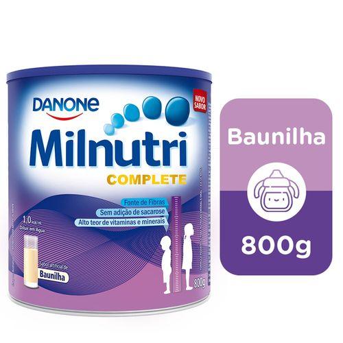 Suplemento Infantil Milnutri Complete Baunilha 800g