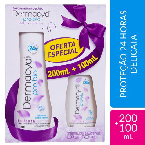 Dermacyd Delic 24h 200ml+100ml Kit Porti