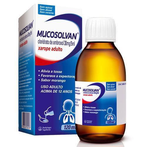 Mucosolvan Xarope Ad 30mg/5ml 120 Ml