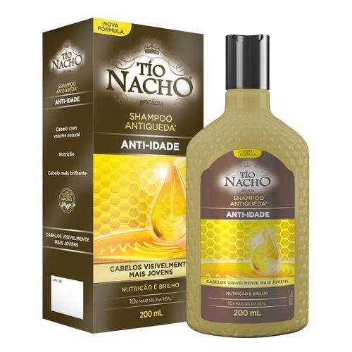 Shampoo Tio Nacho Antiqueda Anti Idade 200ml