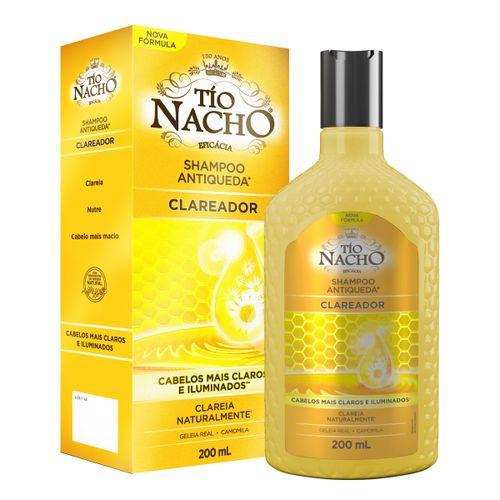 Shampoo Tio Nacho Antiqueda Clareador 200ml