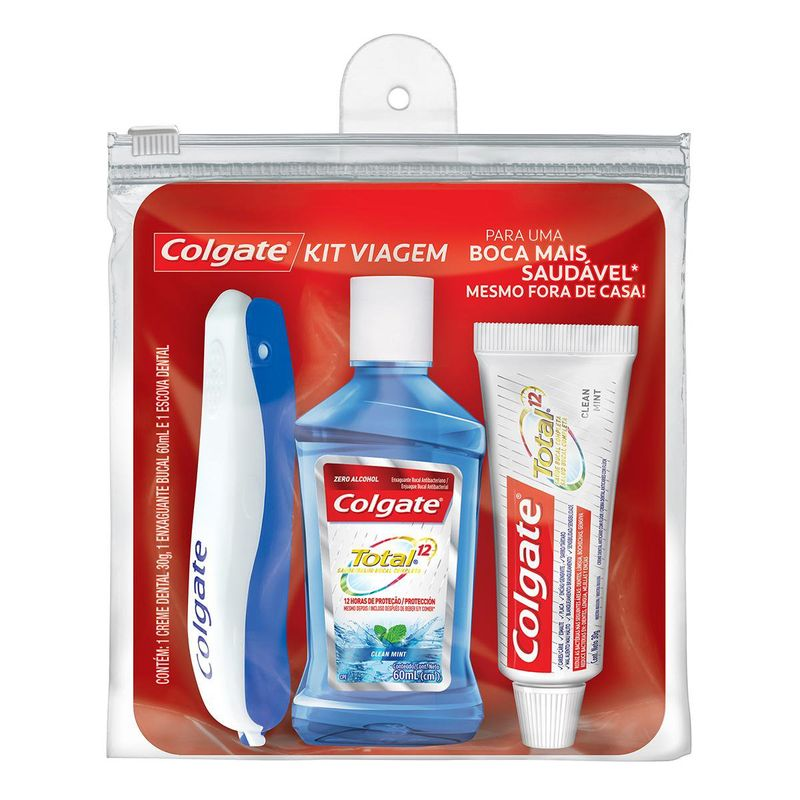 302dc153d9c309f8d02659a70255b553_kit-viagem-colgate-com-escova-dental-portable--enxaguante-bucal-total12-clean-mint-60ml--creme-dental-total12-clean-mint-30g_lett_1