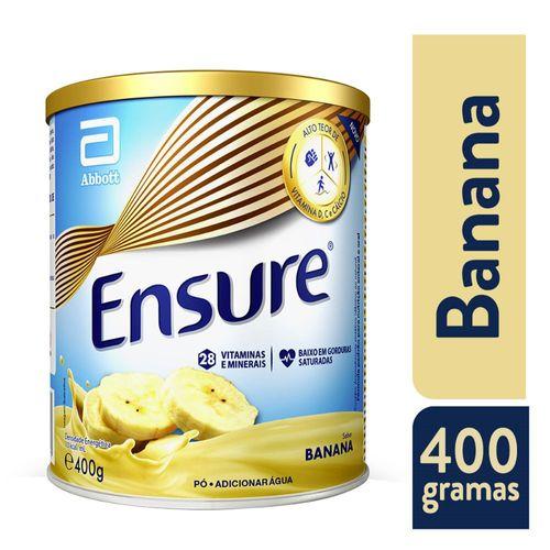 Suplemento Adulto Ensure Pó Sabor Banana 400g
