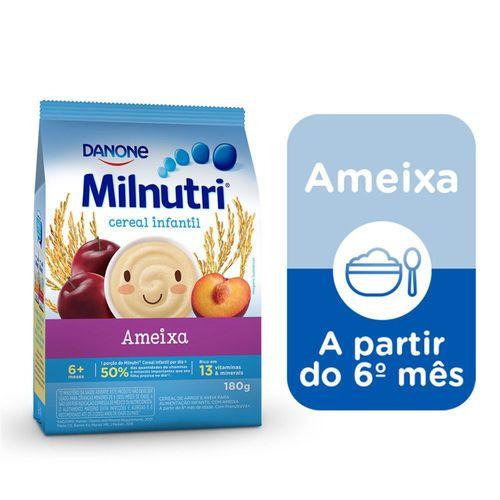 Cereal Infantil Milnutri Ameixa 180g