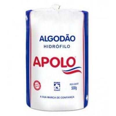 Algodão Apolo Hidrófilo 500g