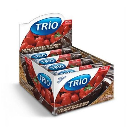 Cereal Trio Chocolate Morango Light 20g