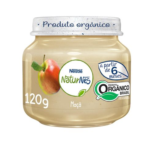 Alimento Infantil Nestle Naturnes Maça 120g