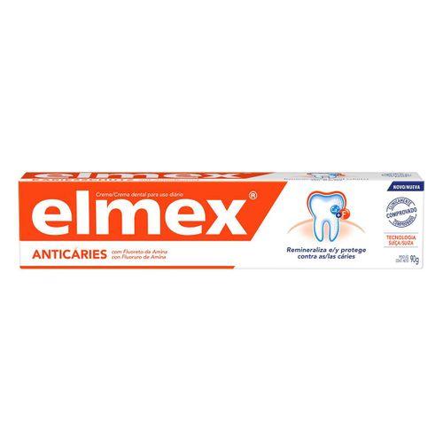 Creme Dental elmex Anticáries 90g