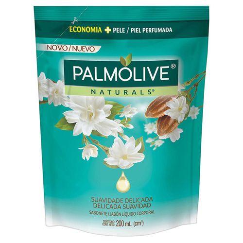 Sabonete Líquido Palmolive Naturals Suavidade Delicada Jasmim Refil 200ml