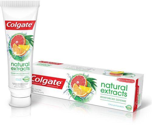 Creme Dental Colgate Natural Exracts Defesa Reforçada 90g