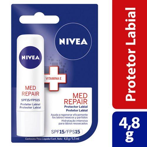 Protetor Labial Nívea Med Protection Fps15 4,8g