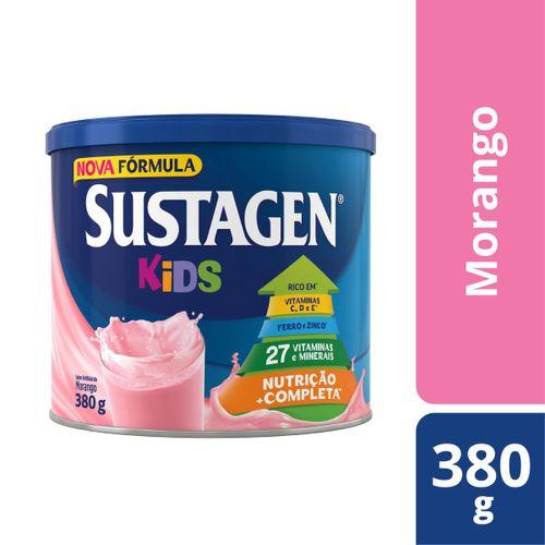 Complemento Alimentar Sustagen Kids Sabor Morango - Lata 380g
