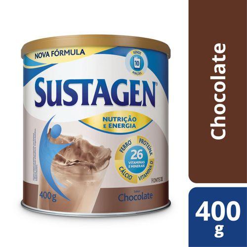 Complemento Alimentar Sustagen Nutrição e Energia Sabor Chocolate - Lata 400g