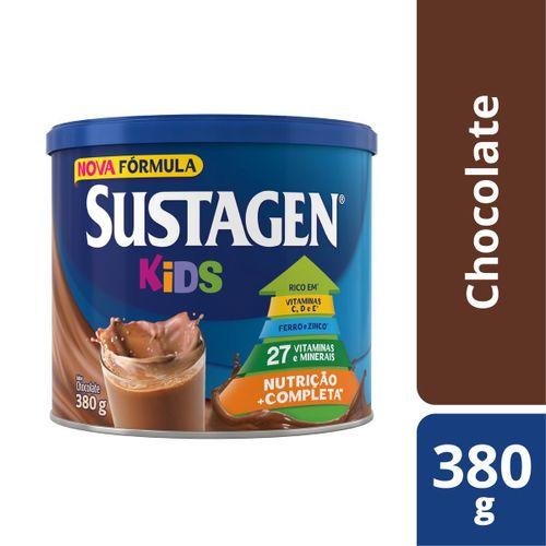 Complemento Alimentar Sustagen Kids Sabor Chocolate - Lata 380g