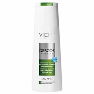 Shampoo Dercos Anticaspa Cabelo Oleoso Com 200ml