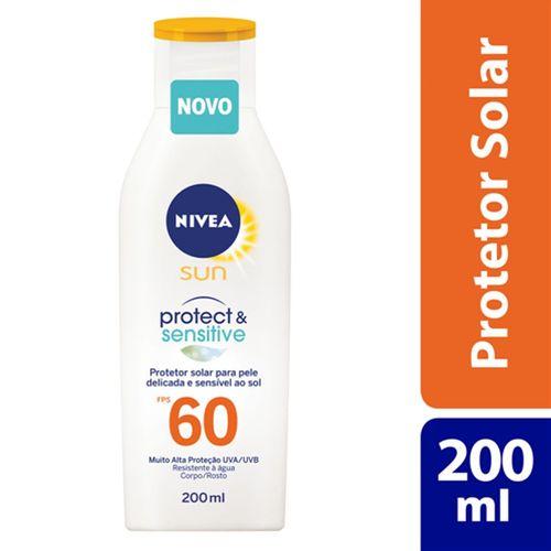 Protetor Solar Nivea Protect E Sensitive Fps60 200ml