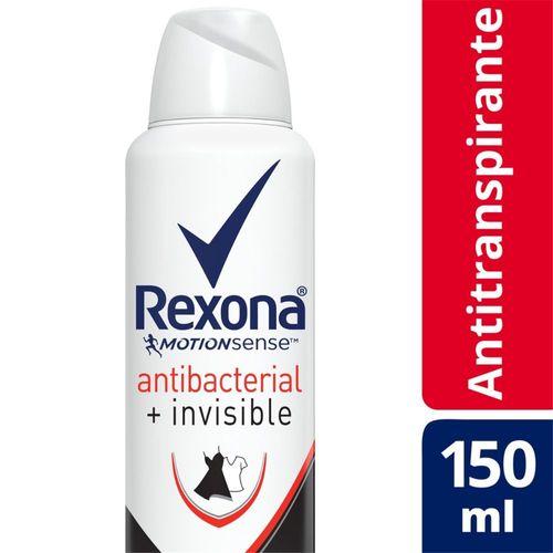Desodorante Rexona Antibacterial Invisible Women Aerossol 90g