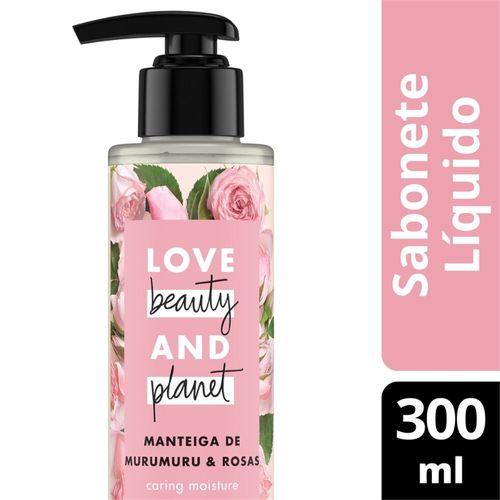 Sabonete Líquido Love Beauty And Planet Caring Moisture 300 ML