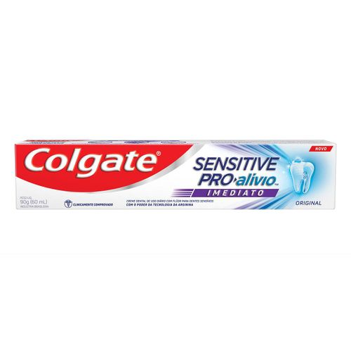 Creme Dental Colgate Sensitive Pro Alivio Imediato Original 90g