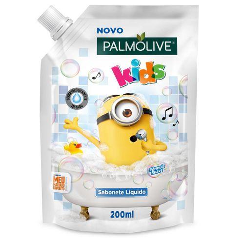 Sabonete Palmolive Minions Kids Refil 200ml