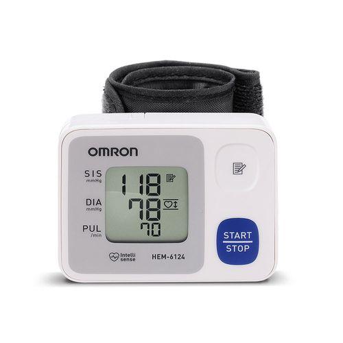Monitor De Pressão Omron Digital De Pulso Automático Hem-6124