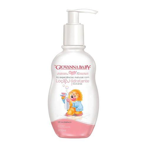 Loção Hidratante Giovanna Baby Giby 0 A 5 Anos 200ml