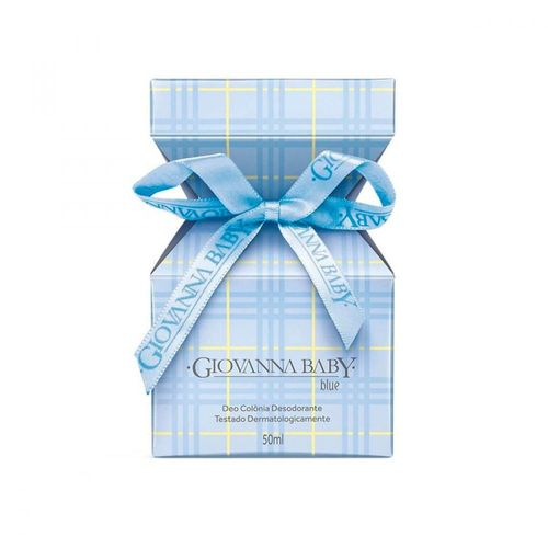 Colônia Giovanna Baby Blue 50ml