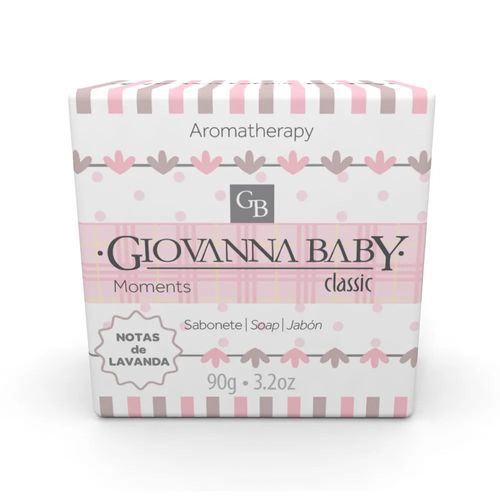 Sabonete Giovanna Baby Moments Classic Notas De Lavanda 90g
