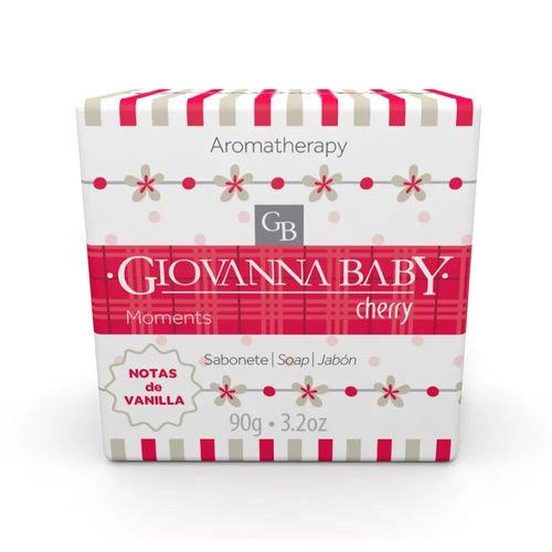 Sabonete Giovanna Baby Moments Cherry Notas De Vanilla 90g