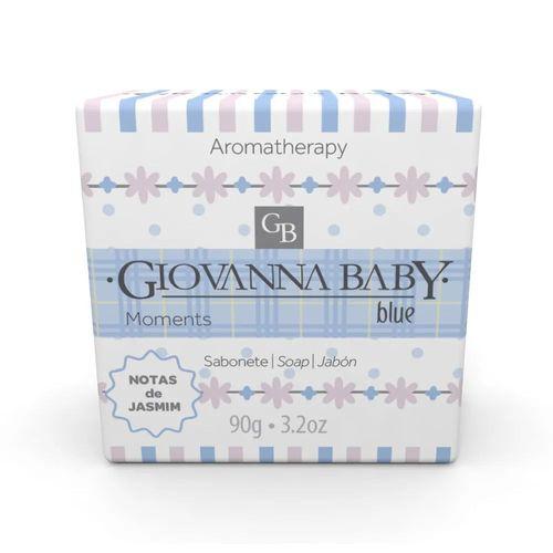 Sabonete Giovanna Baby Moments Blue Notas De Jasmin 90g