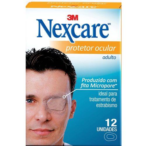 Protetor Ocular Adulto Nexcare - 12 Unidades