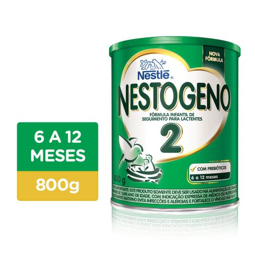 Fórmula Infantil Nestogeno 2 800g