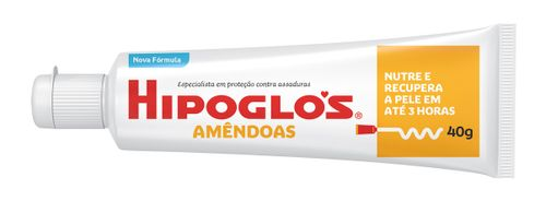 Creme Preventivo de assaduras Hipoglos Amêndoas 40grs