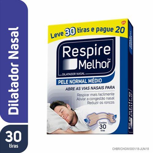Respire Melhor Pele Normal Leve 30 Pague 20 Unidades