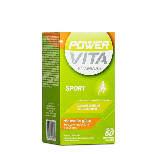Power Vita Sport Com 60 Drágeas