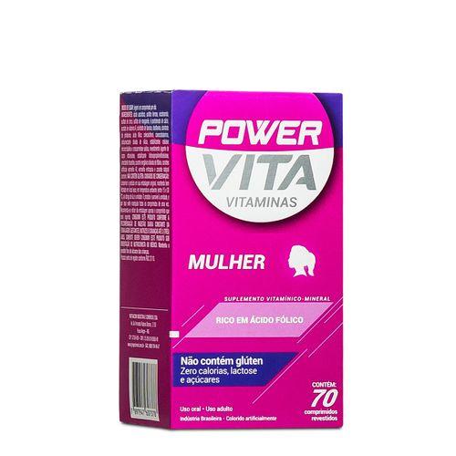 Power Vita Mulher Com 70 Drágeas