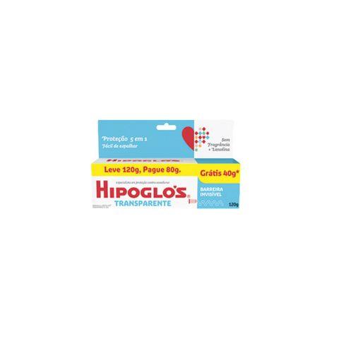 Hipoglos Transparente Sem Fragancia + Lanolina Leve 120g E Pague 80g