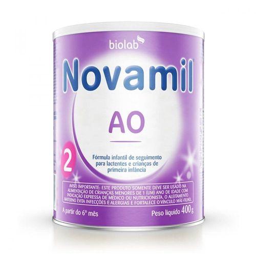 Formula Infantil Novamil Ao 2 400g