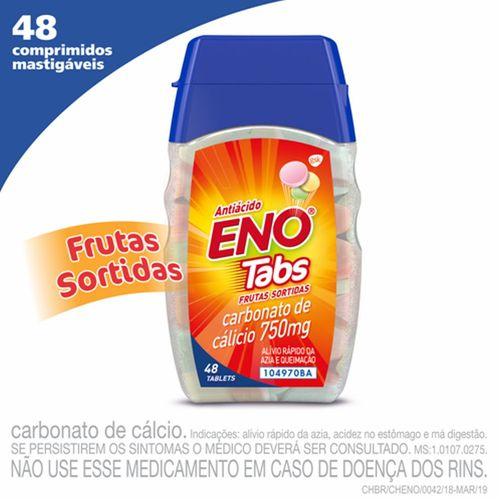 Sal De Fruta Eno Frutas Sortidas Com 48 Comprimidos Mastigáveis