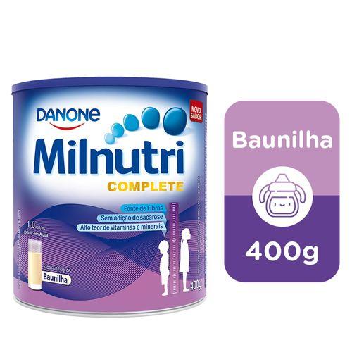 Suplemento Infantil Milnutri Complete Baunilha 400g
