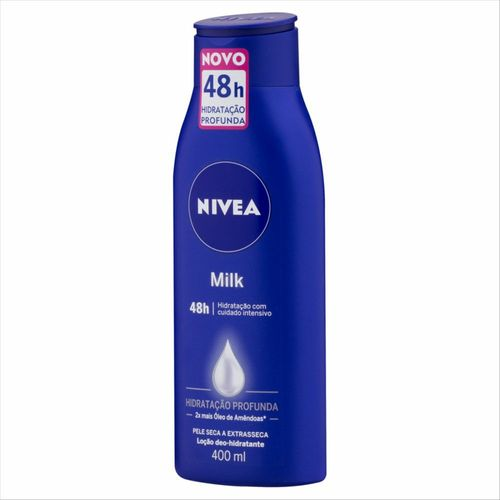 Hidratante Nivea Milk Pele Seca A Extra Seca 400ml
