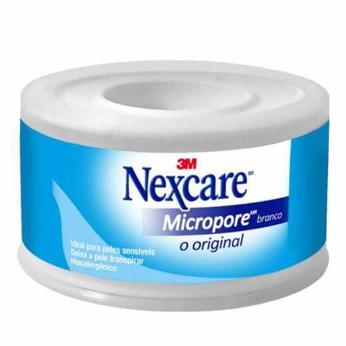 Fita Micropore Nexcare Branca - 25 Mm X 4,5 M