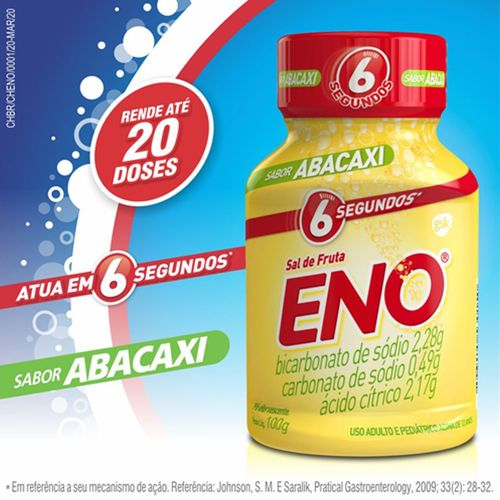 Sal De Fruta Eno Abacaxi 100 G