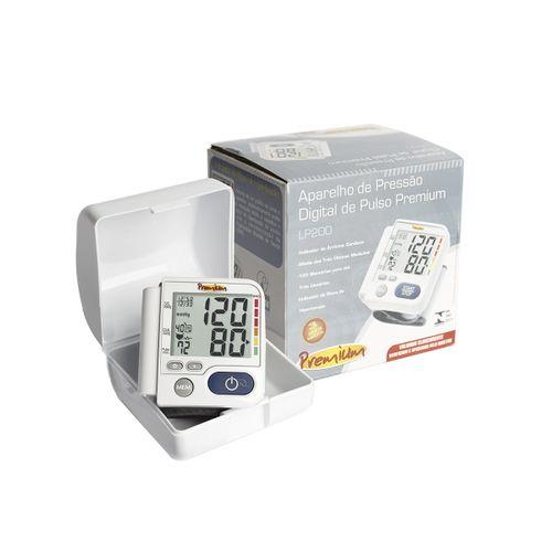 Monitor De Pressao Gtech Digital Pulso Lp200 Premium