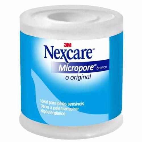 Fita Micropore Nexcare Branca - 50 Mm X 4,5 M
