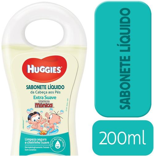 Sabonete Liquido Huggies Extra Suave - 200ml