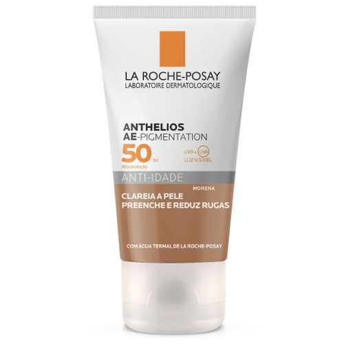 Anthelios Ae-Pigmentation Protetor Solar Anti-Idade Fps50 Clareador Cor Morena 40g